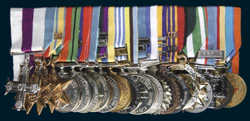 Lot 5568 australian groups sale 96 noble numismatics for Army emergency reserve decoration